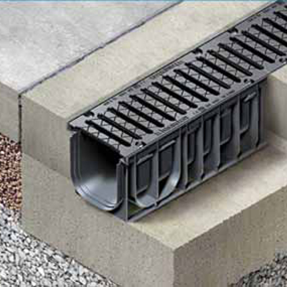 New recyfix nc category class e600 drainage channels for Surface drainage system