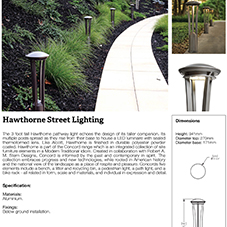 Hawthorne Street Lighting