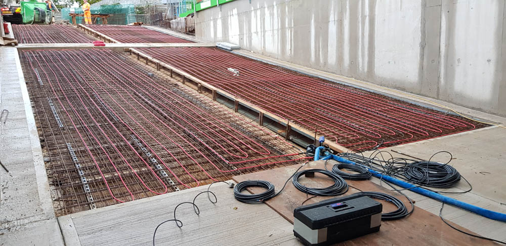 Heated ramp system installed at Wessex Hotel in Dorset