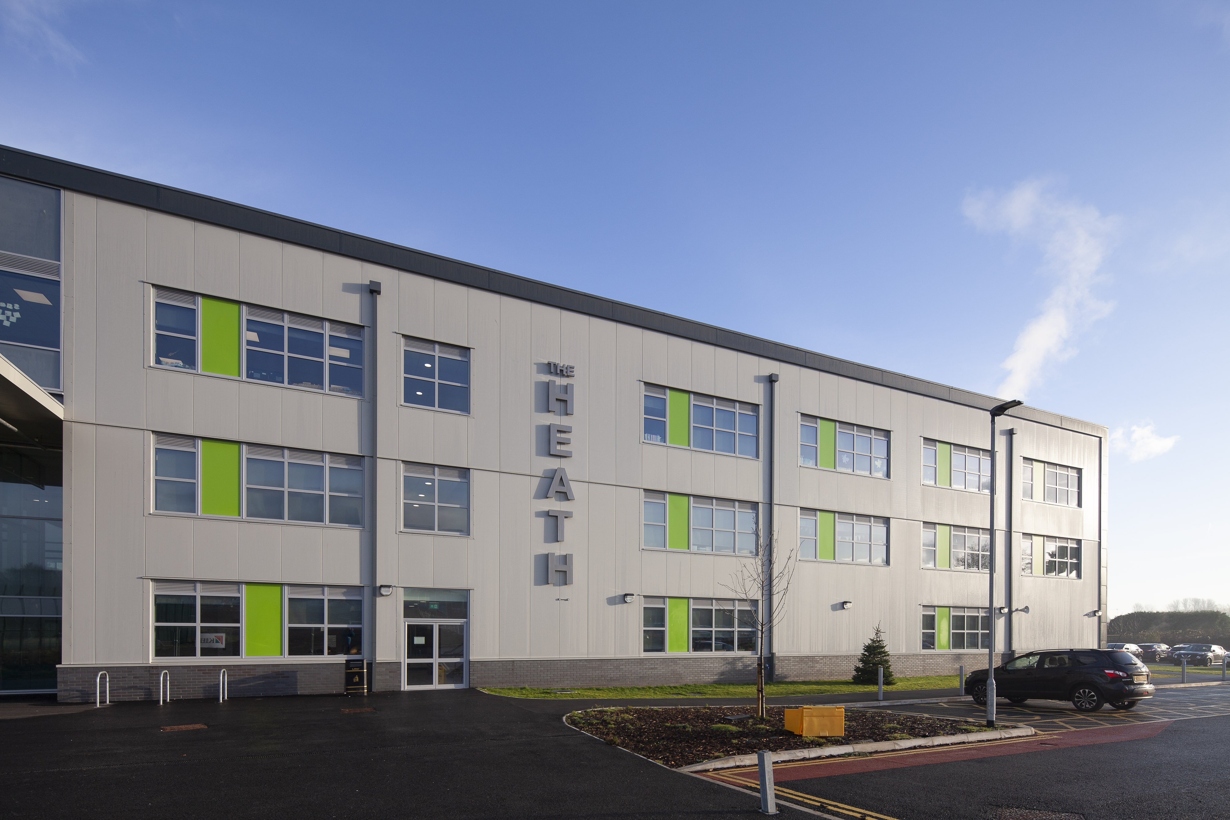 Kooltherm helping school towards top BREEAM rating