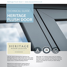 Heritage Flush Door Technical Guide