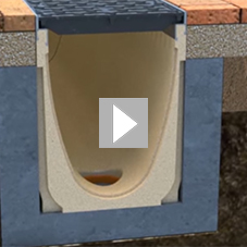 How to install concrete polymer drainage channels