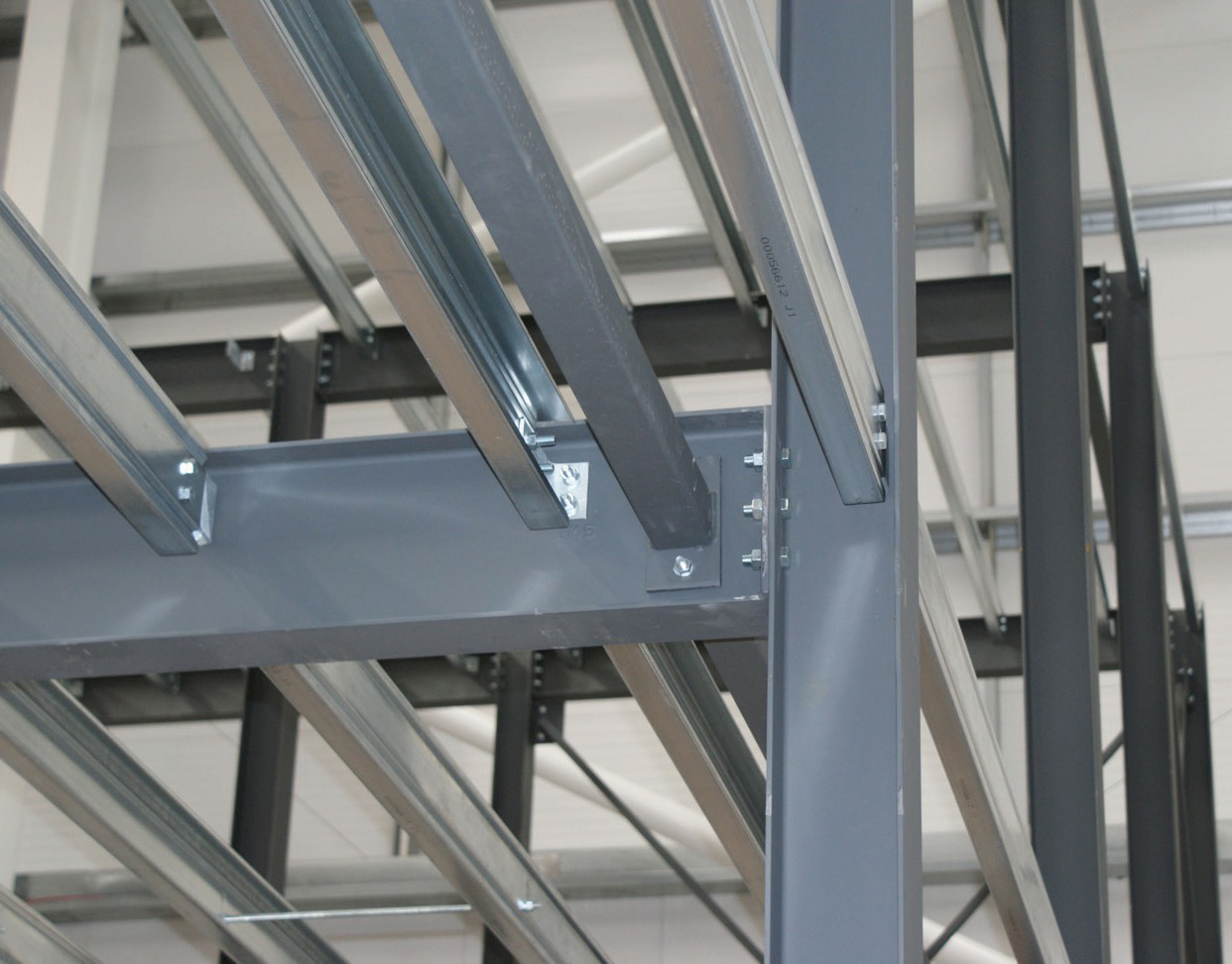 High tensile steel beams for college in West Sussex