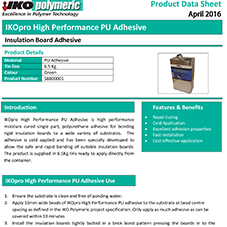 High Performance PU Adhesive