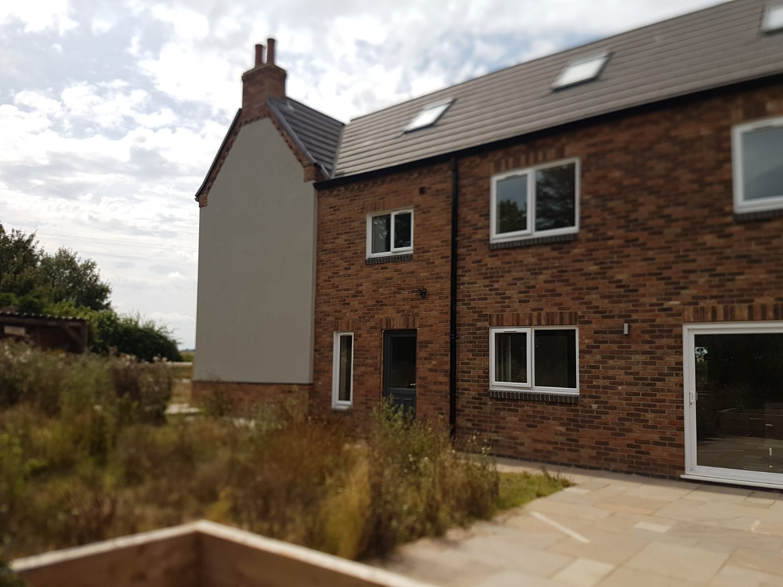 Johnstones render system rejuvenates ramshackle cottage