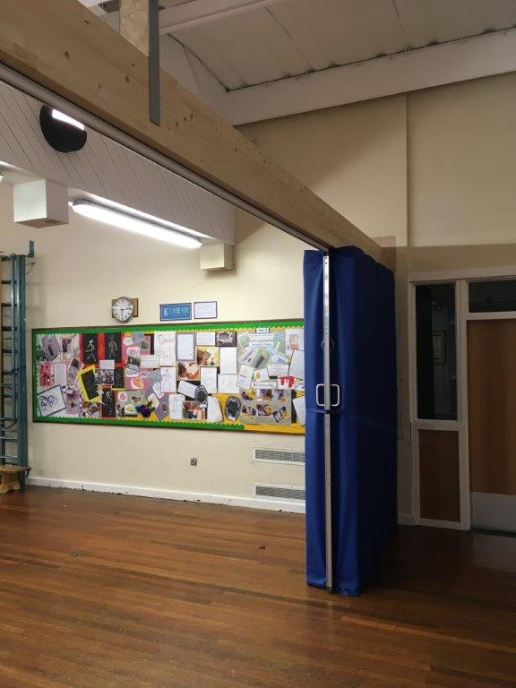 Beehive enable better usage of a Leeds Primary School's main hall