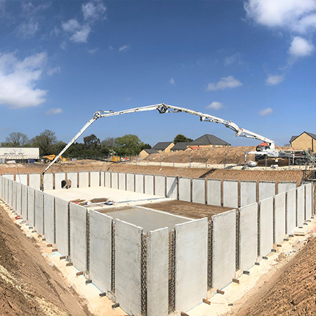Carlow Concrete is a market leader in precast concrete stormwater  attenuation