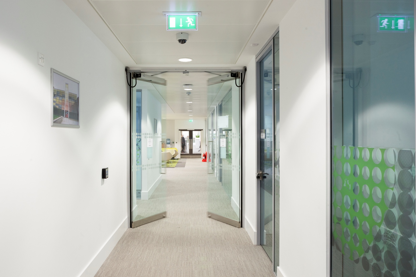 GEZE Slimdrive EMD-F automatic swing doors