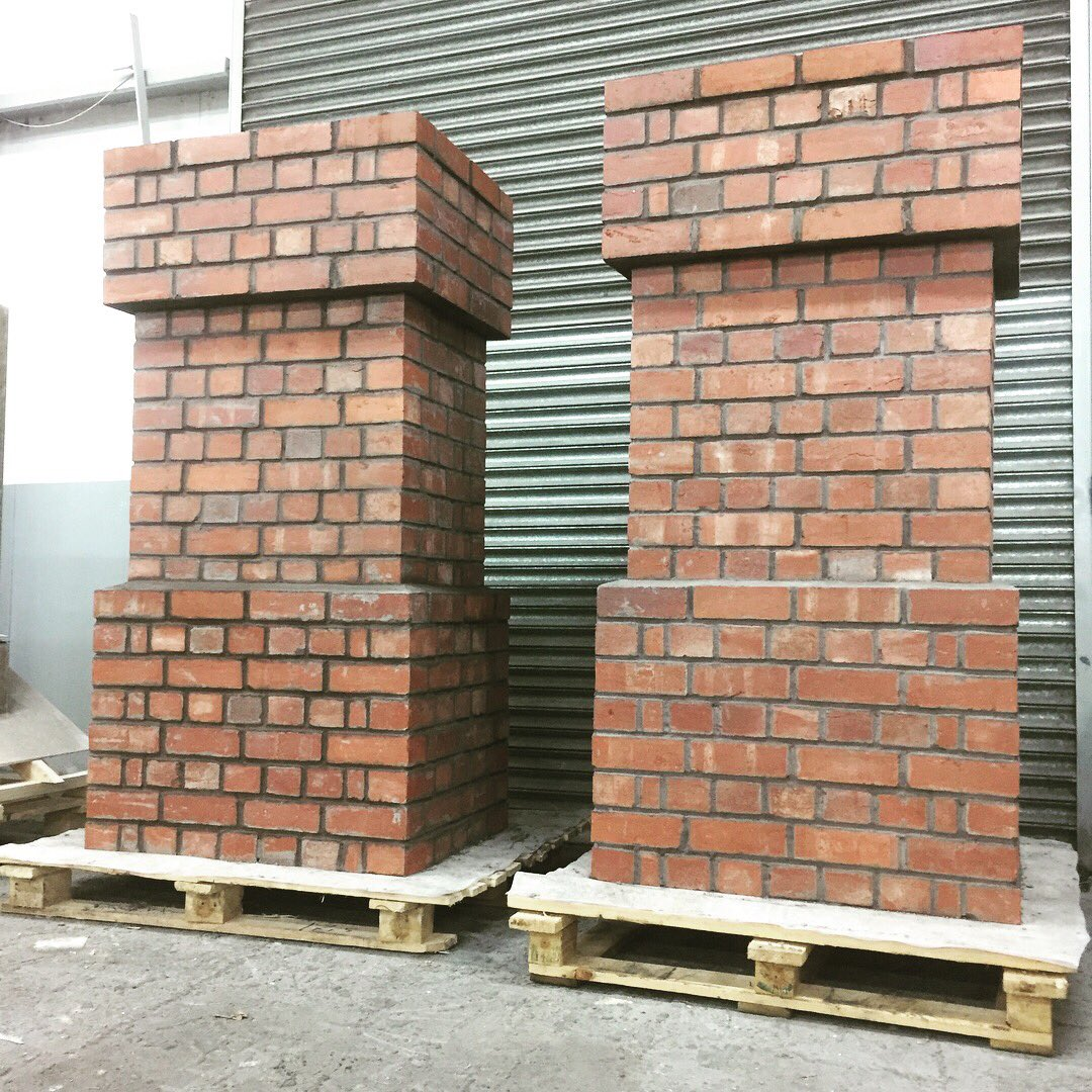 Brickfab tops off Coronation Street set construction