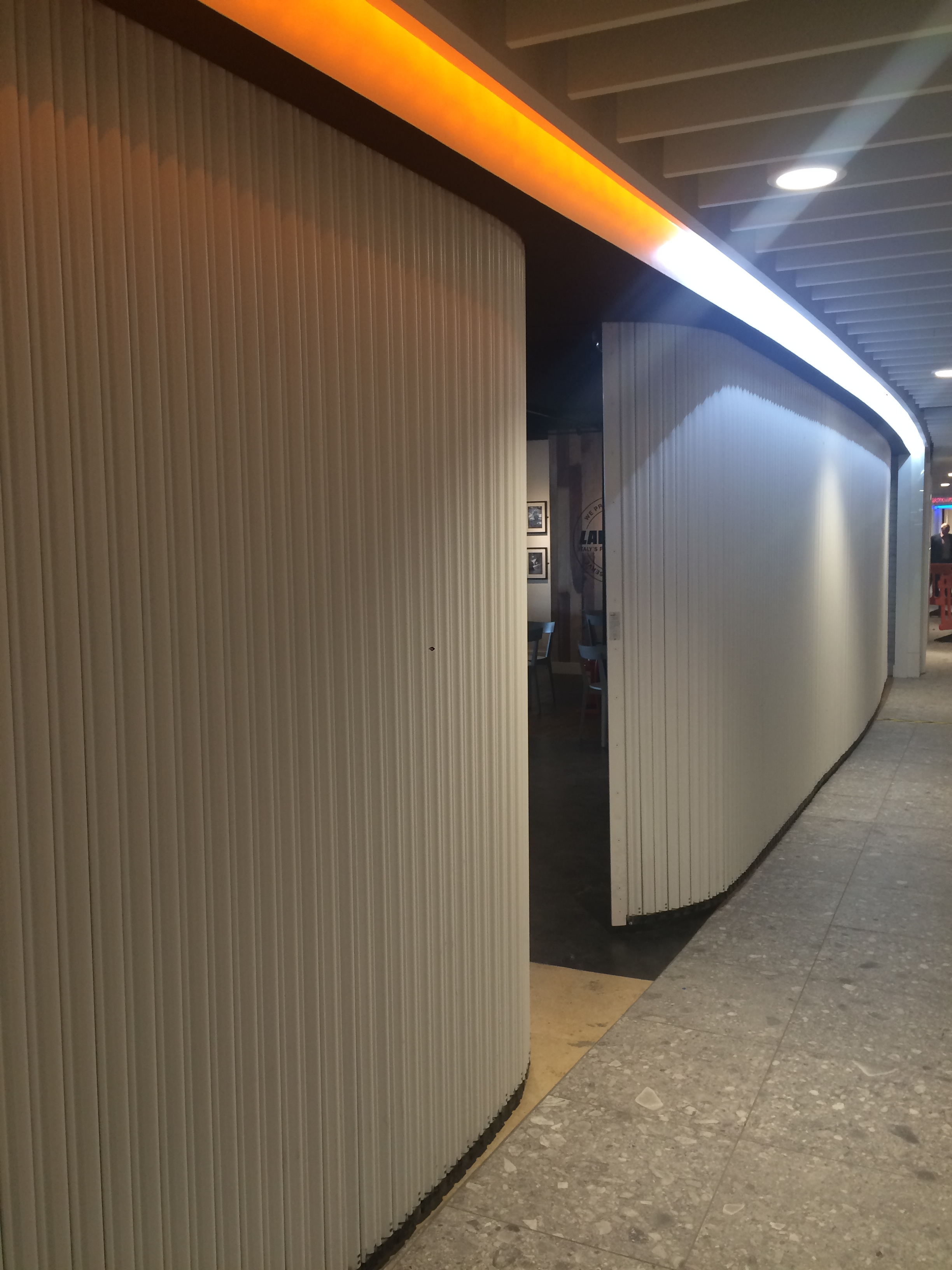 Bolton Gate Contour Shutters For Newcastle Airport # Muebles Vaoli Leon