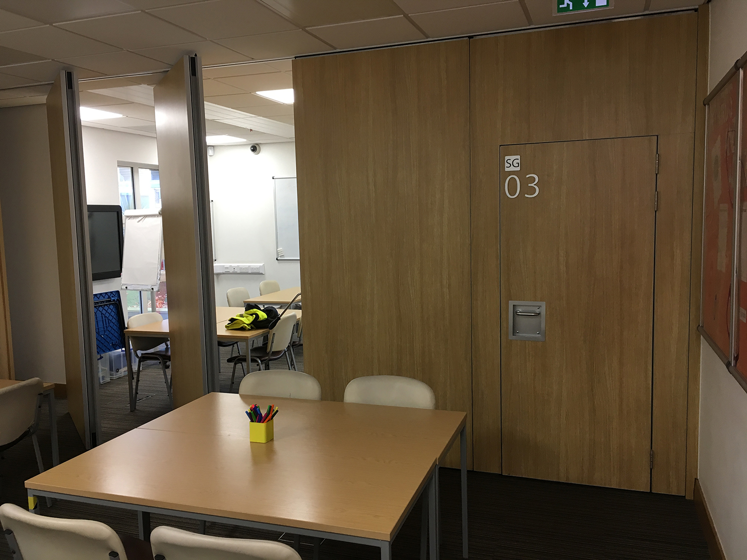 A school in Preston benefiting from Beehive Folding Partitions