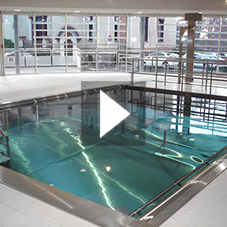 Inox Stainless Steel Hydrotherapy Pool