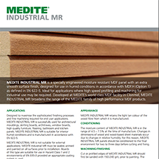 MEDITE INDUSTRIAL MR