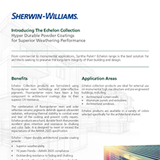 Echelon Collection Product Data Sheet