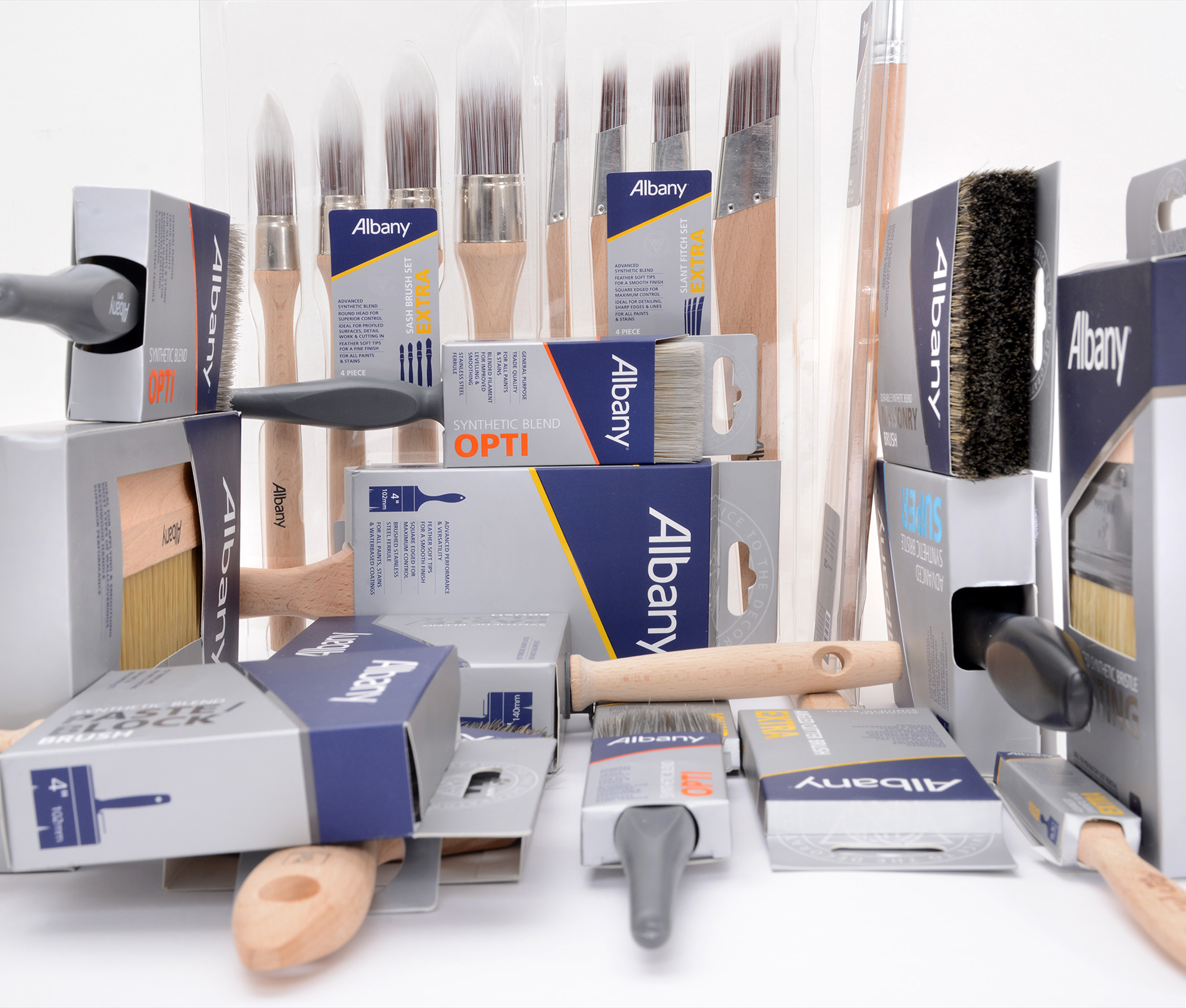 Albany launch innovative new range of brushes and rollers