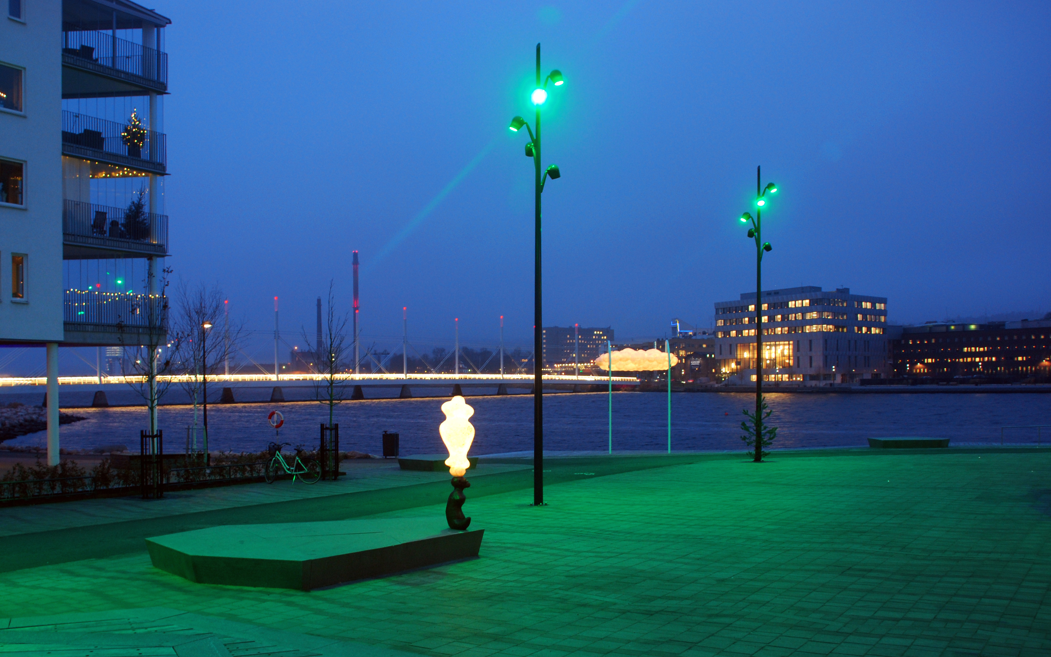 Selux lighting in public living space in Jönköping