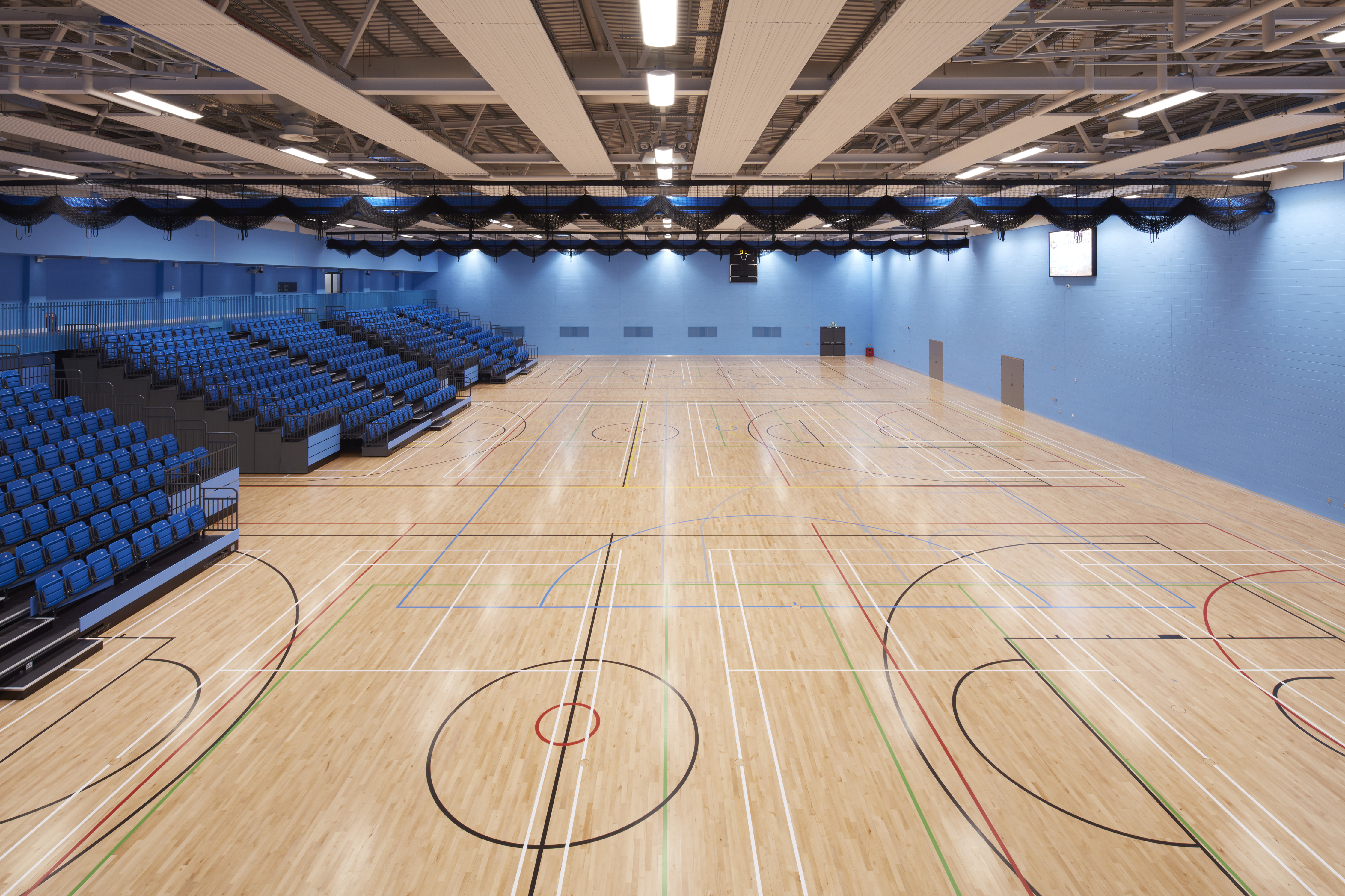 Junckers Flooring for World Class Sports Centre