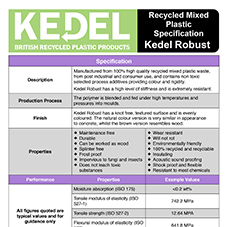Kedel Robust specification