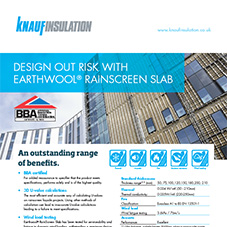 Knauf Insulation 'Earthwool® Rainscreen Slab'
