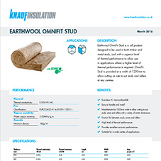 Knauf Insulation Earthwool® Omnifit Stud