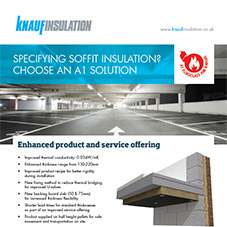 Knauf Insulation Earthwool® Soffit Linerboard Leaflet