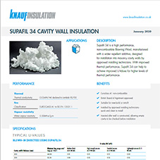 Knauf Insulation Supafil® 34