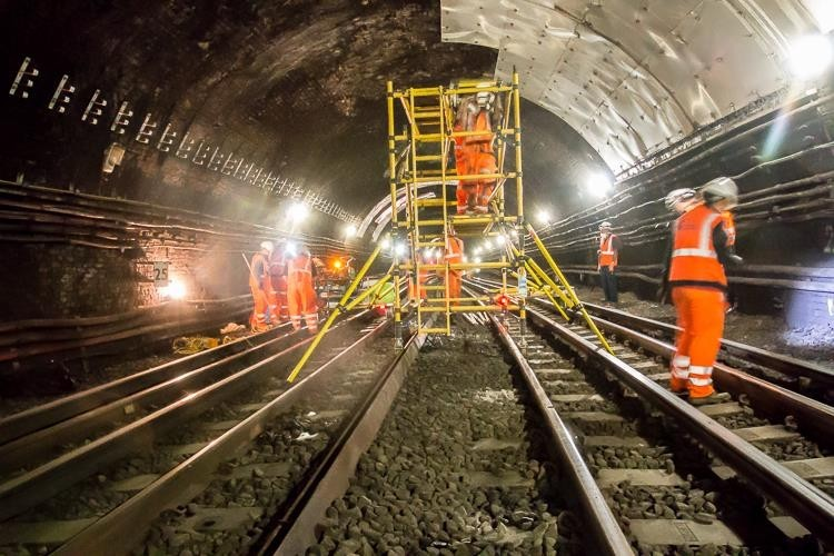 Koster waterproofing system for London Underground