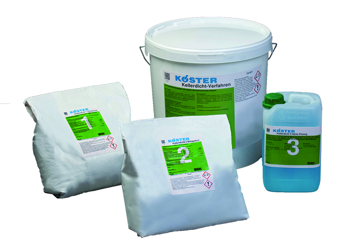 Koster KD System Waterstop (including KD base, KD Blitz and KD Sealer)