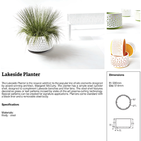 Lakeside Planter