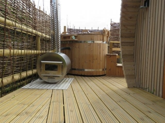 Anti-Slip Decking for Lee Wick Farm glamping
