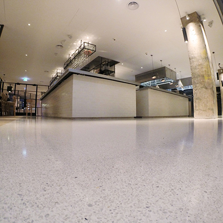 New Terrazzo Floor Innovation Shimmers In Leicester Square