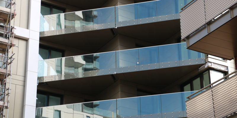 Glide-On™ Cassette® balconies for the Lighterman project