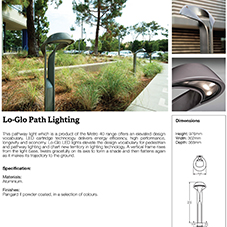 Lo Glo Path Light