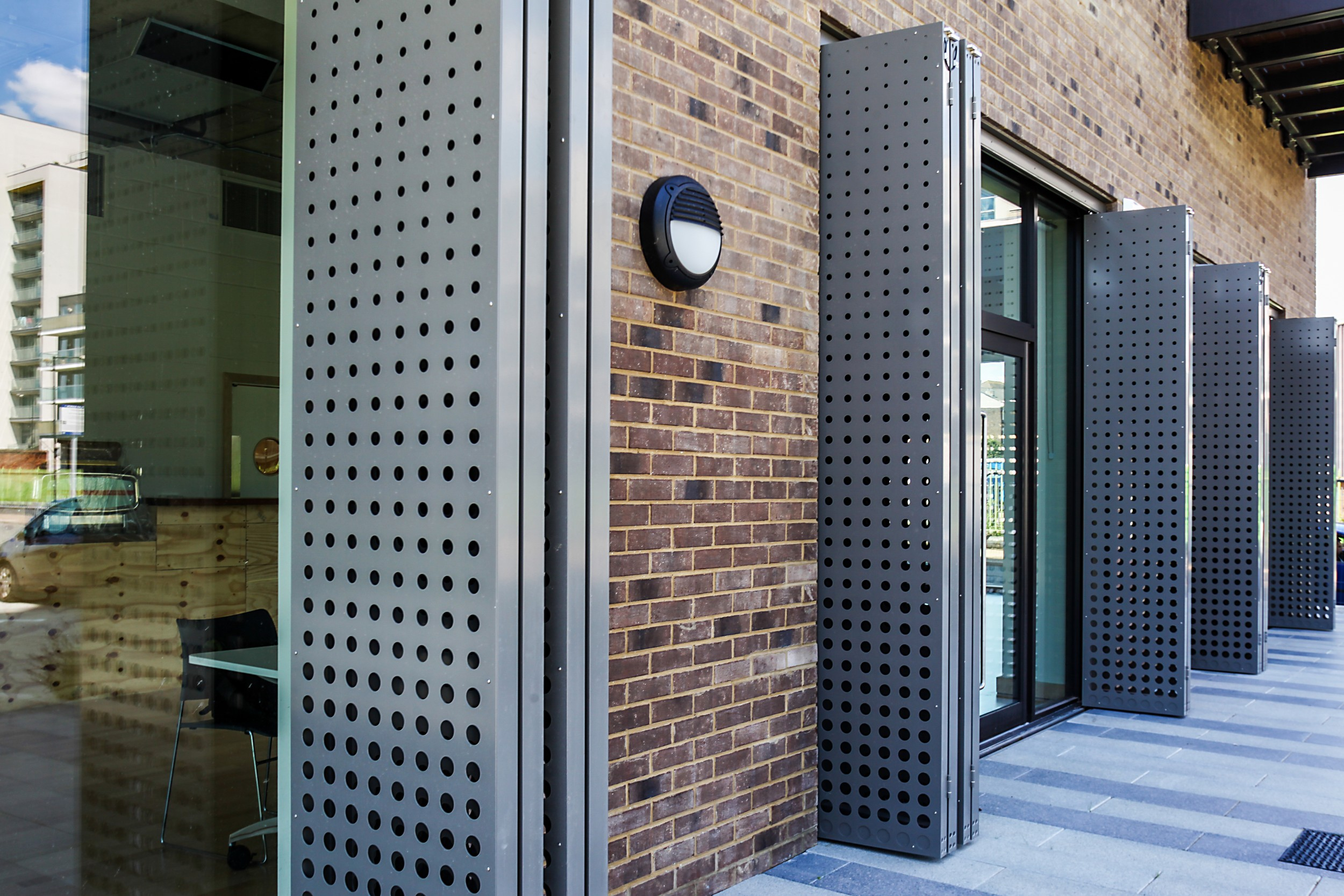 Sun Control system enhances London development
