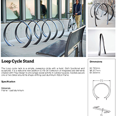 Loop Cycle Stand