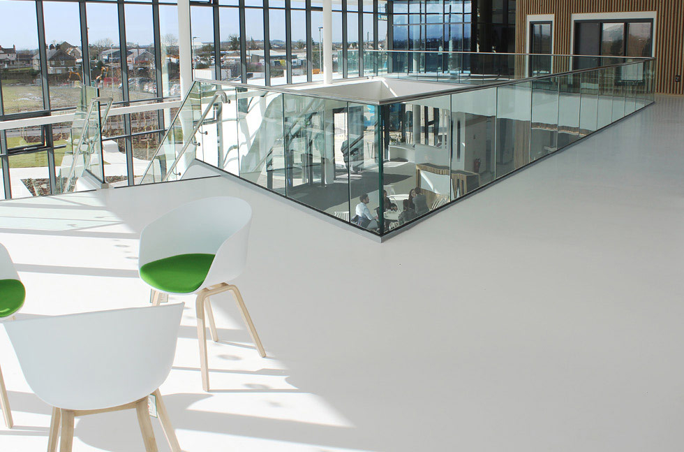 A modern, robust flooring finish for M-SParc