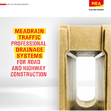 MEADRAIN TRAFFIC: drainage systems for roads & highways