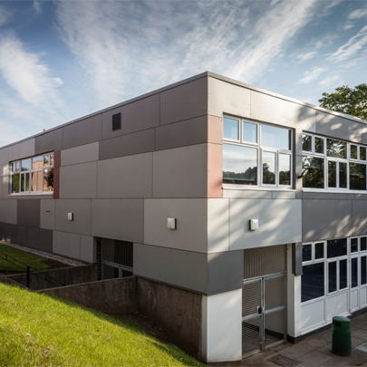 marley eternit architectural fibre cement facade for scarborough sixth form college. Black Bedroom Furniture Sets. Home Design Ideas