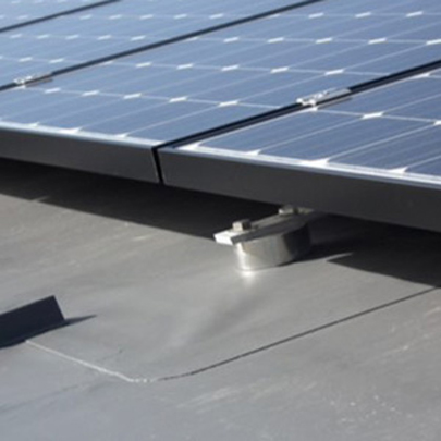 Engineered Solutions For Fixing Solar Panels To Flat Roofs