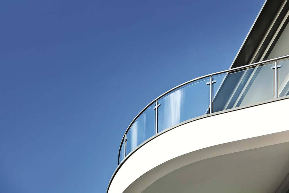 Canal balustrades for nautically inspired development