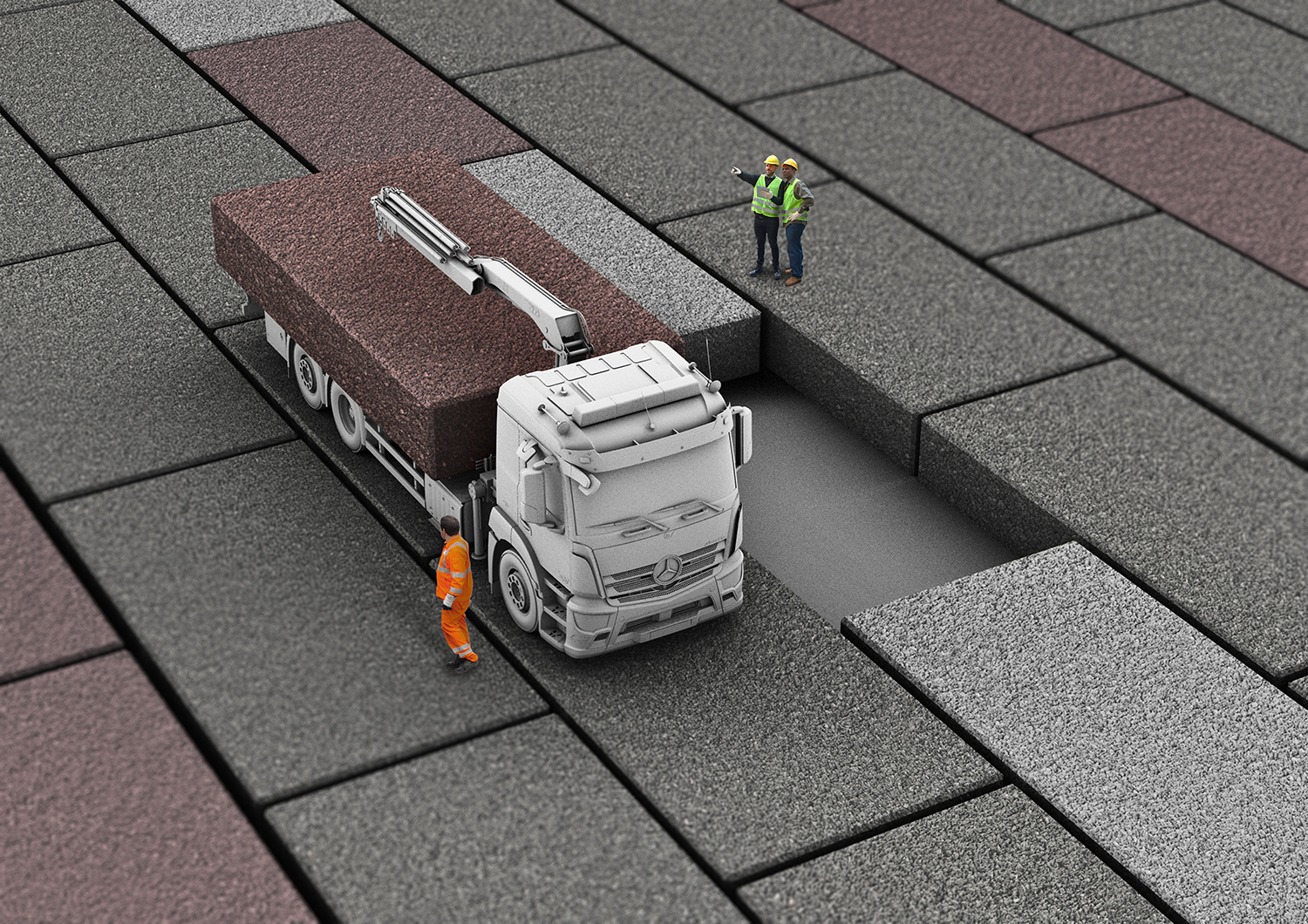 Marshalls introduce their new modal paving free design tool
