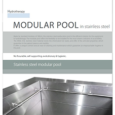 Modular Pool in Stainless Steel