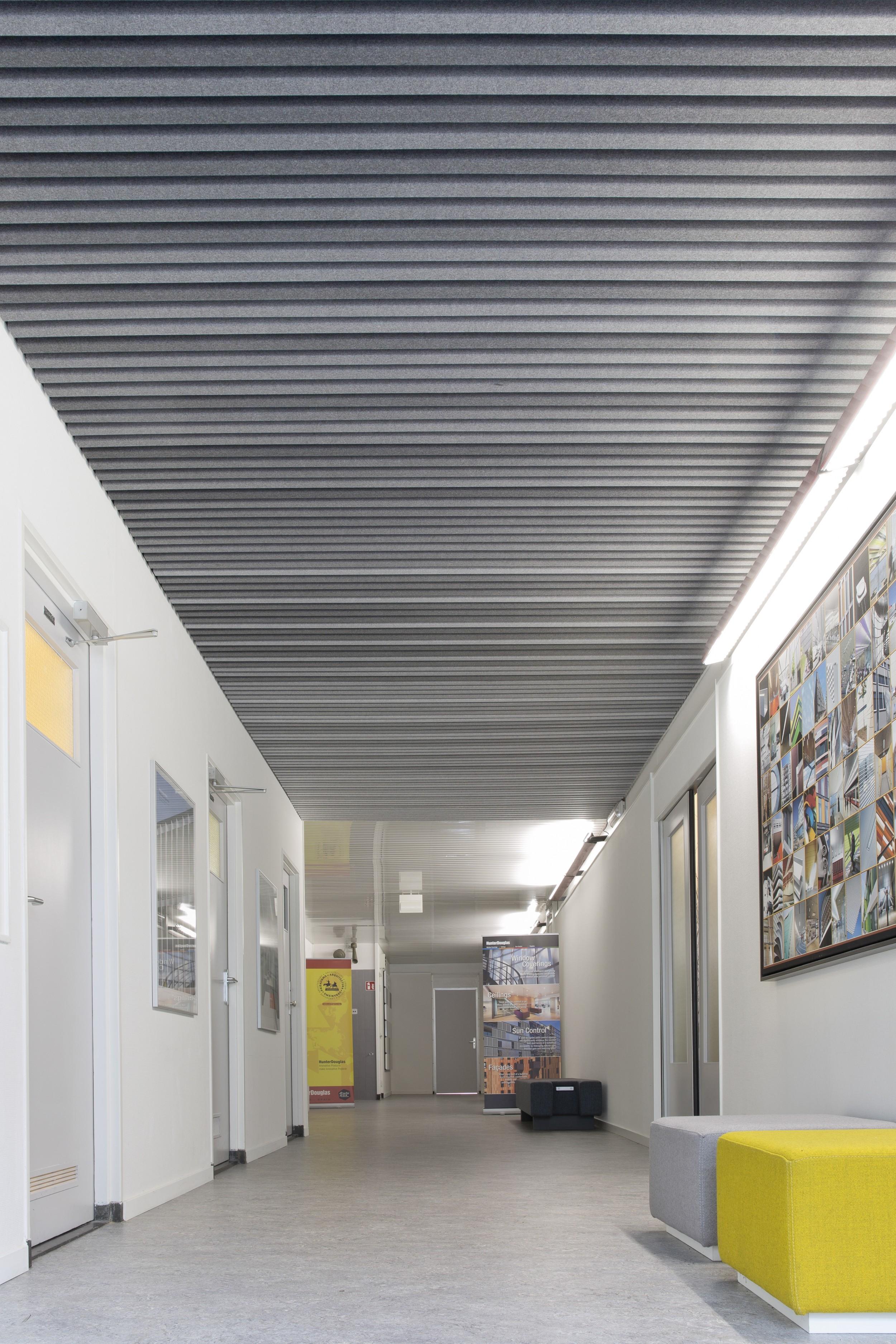Hunter Douglas Launch Modular Felt Ceiling System