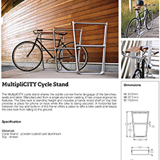 MultipliCITY Cycle Stand