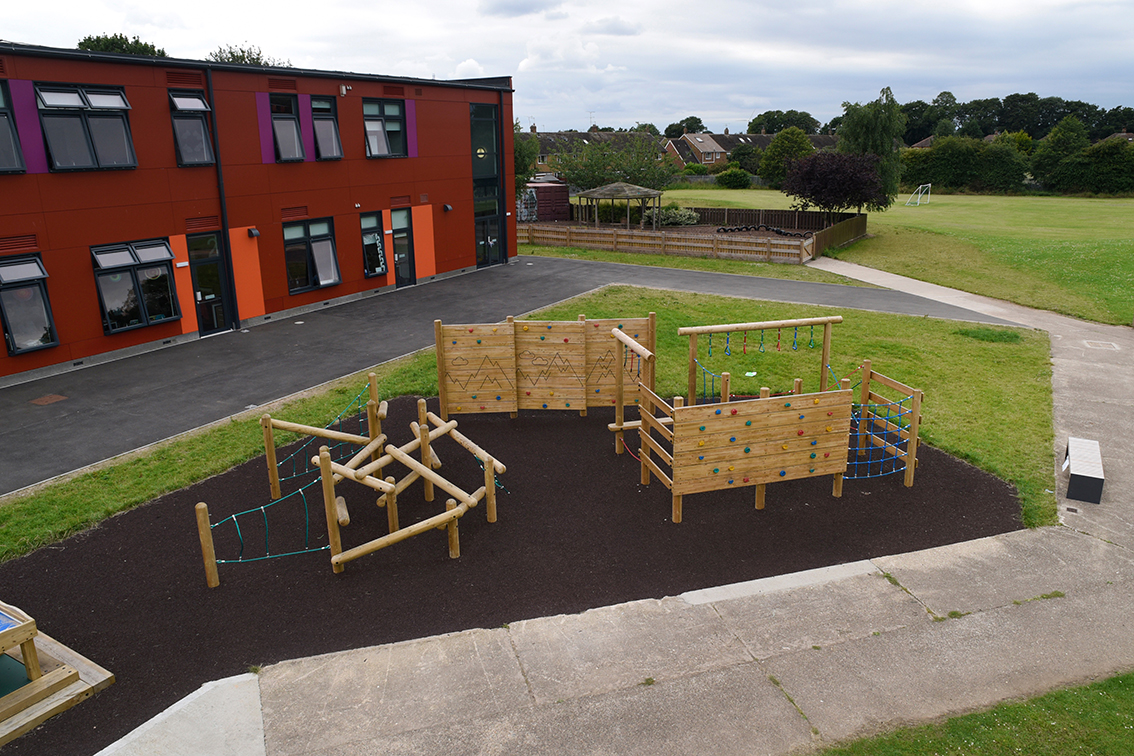 Hand Made Places Playground Equipment