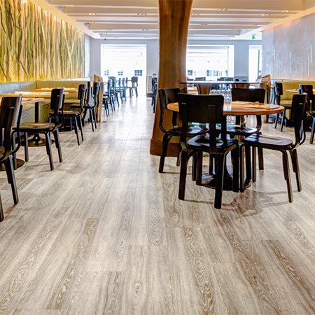 Amtico Wood Flooring For Nobu Restaurant