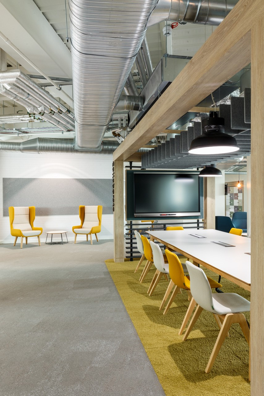 Sustainable acoustic solutions for office refurb for Sustainable interior design products