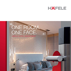 One Room, One Face: Häfele Hotel Assortment