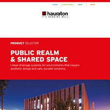 Product Selector: Public realm & shared space