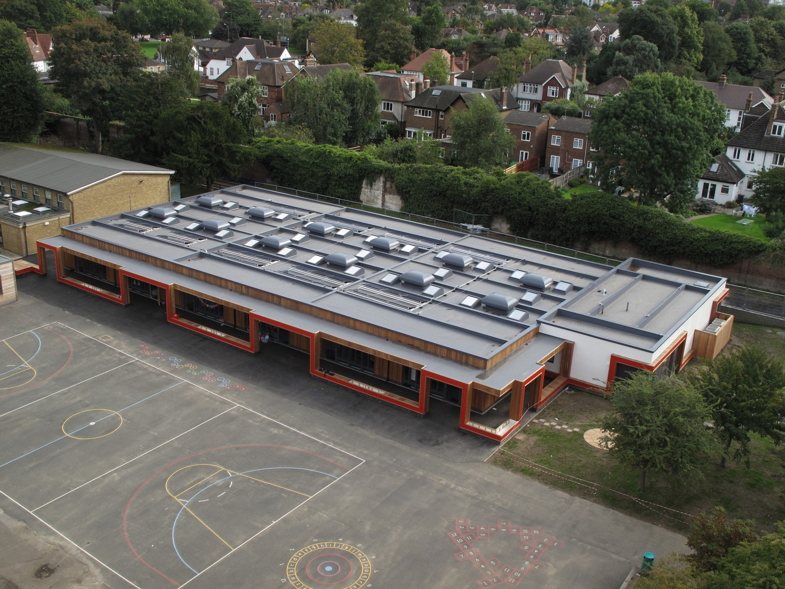 PVC membrane Armourplan P for Parish CofE Primary School